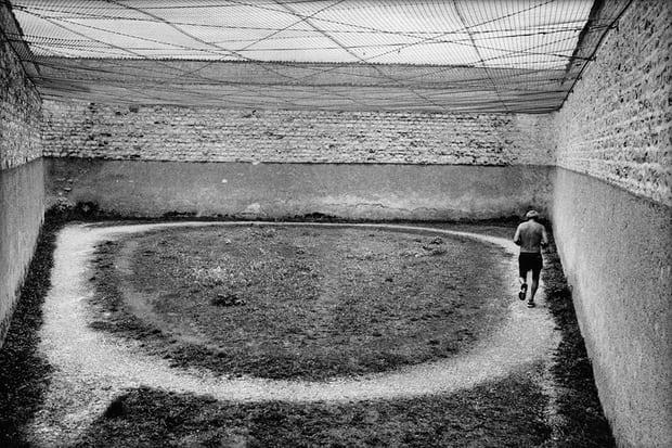Maison Centrale de Clairvaux prison, Aube, France. Image by Raymond Depardon, 1998.