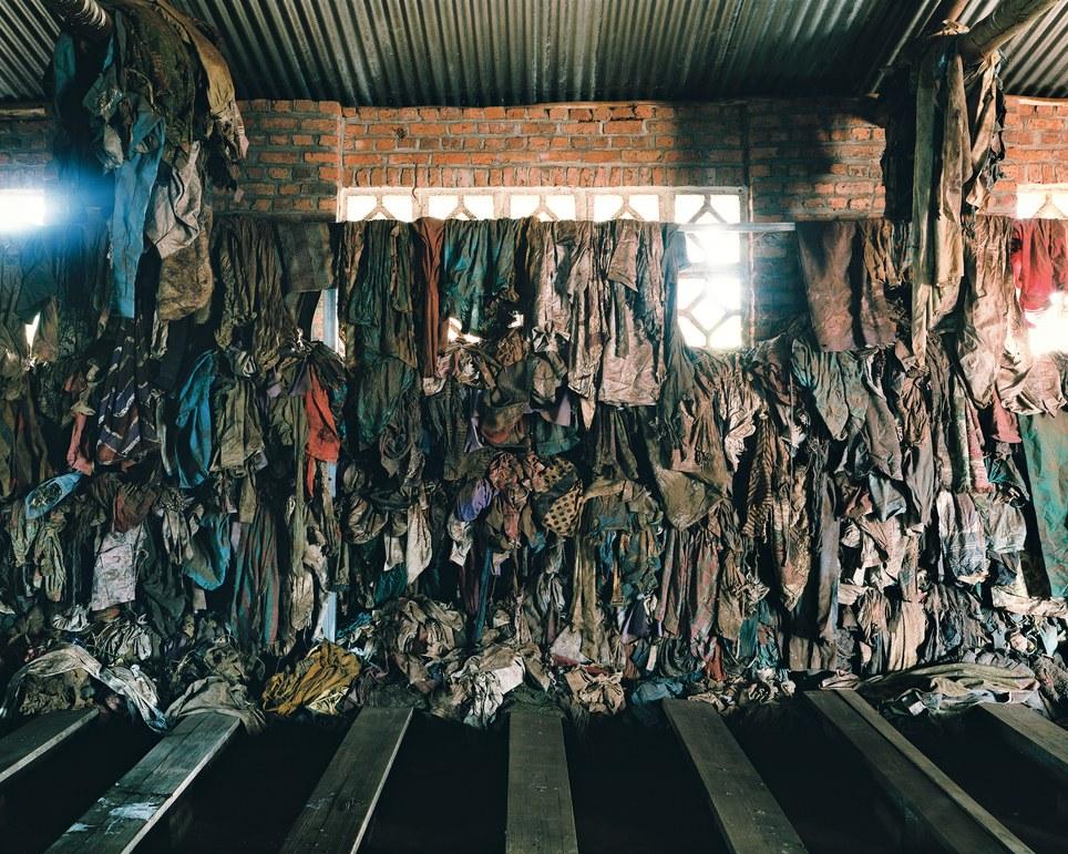 Genocide memorial site at Ntarama, Rwanda - Ambroise Tézenas